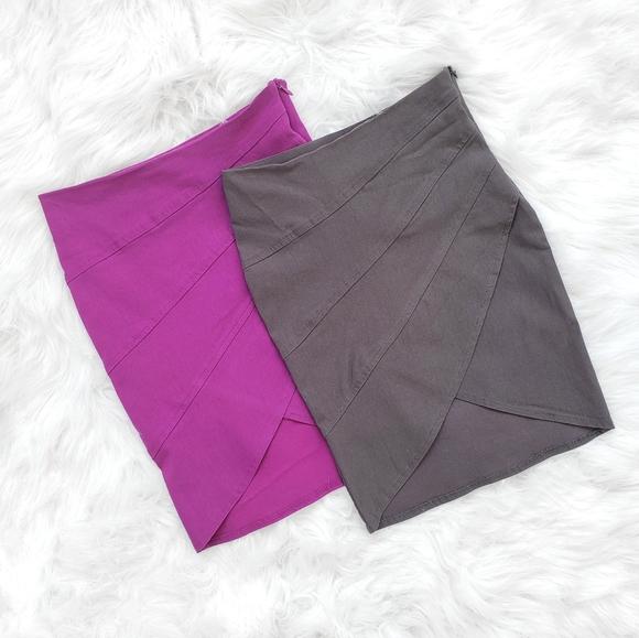 3/20$ - LIMITÉ - Women's 2 Mini Skirts - XS